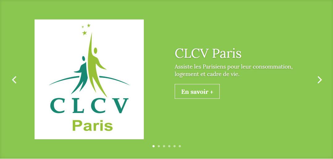 Un site pour la CLCV Paris