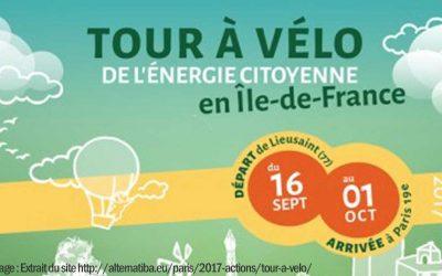 Tour à vélo de l'énergie citoyenne ! (2017)