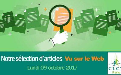 Notre sélection d'articles « Vu sur le Web » du 09/10/2017