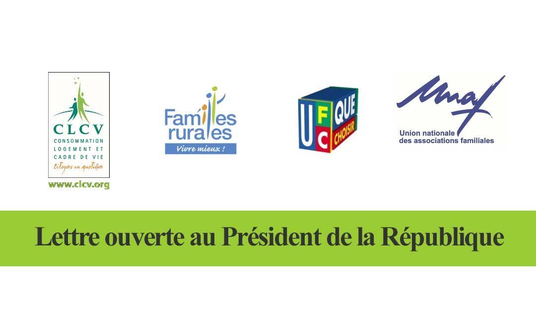 Relèvement du seuil de revente à perte – Lettre ouverte au président de la République