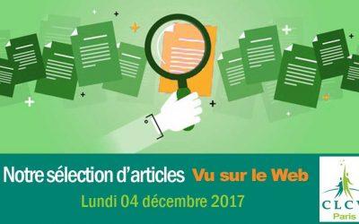 « Vu sur le Web » : notre sélection d'articles  du 04/12/2017