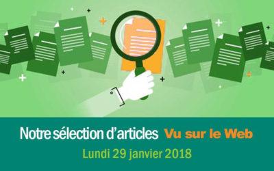 « Vu sur le Web » : notre sélection d'articles du 29/01/2018
