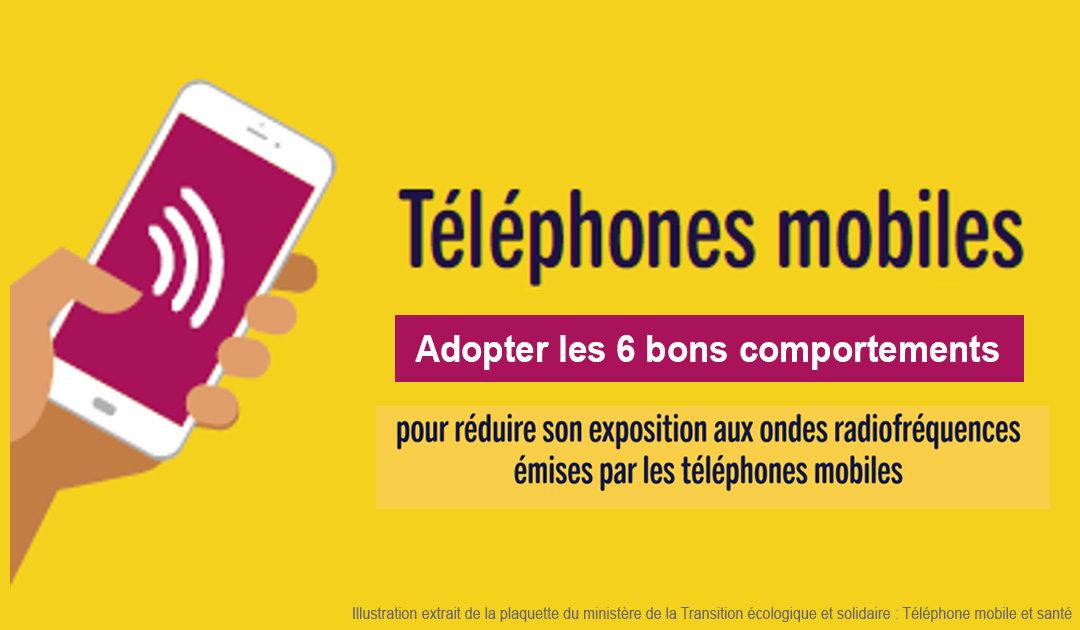 ondes  u00e9lectromagn u00e9tiques   les t u00e9l u00e9phones portables