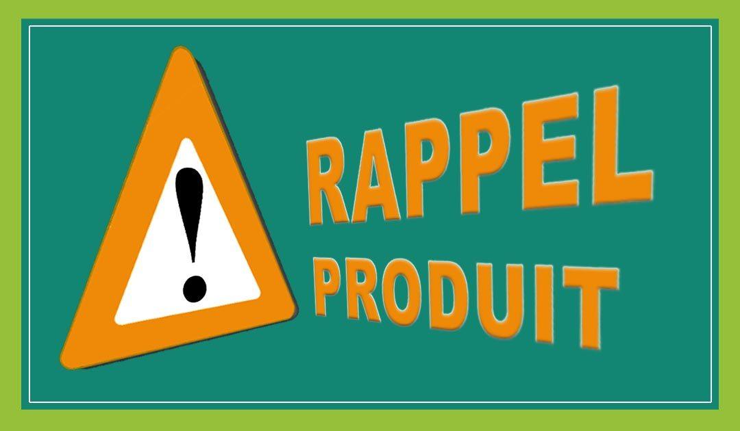 Consommation : Retrait-rappel de produits – La CLCV rapporteur du groupe de travail pour l'amélioration du dispositif