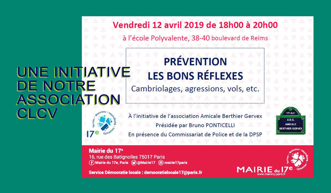 Une initiative de notre association CLCV en faveur de la prévention
