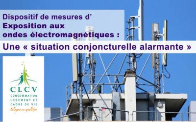 Dispositif de mesures d'Exposition aux ondes électromagnétiques : une « situation conjoncturelle alarmante »