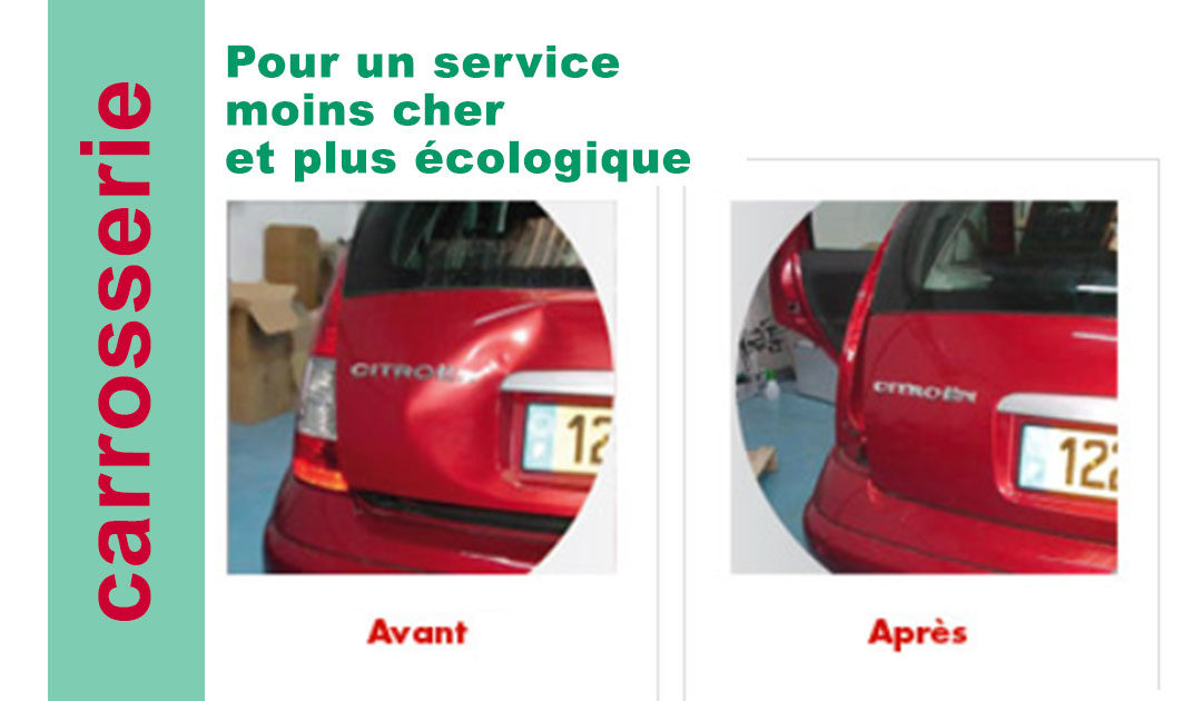 Pour un service de carrosserie moins cher et plus écologique
