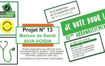BUDGET PARTICIPATIF 2019 : Soutenez le projet de l'association de locataires CLCV AVIA-VOISIN