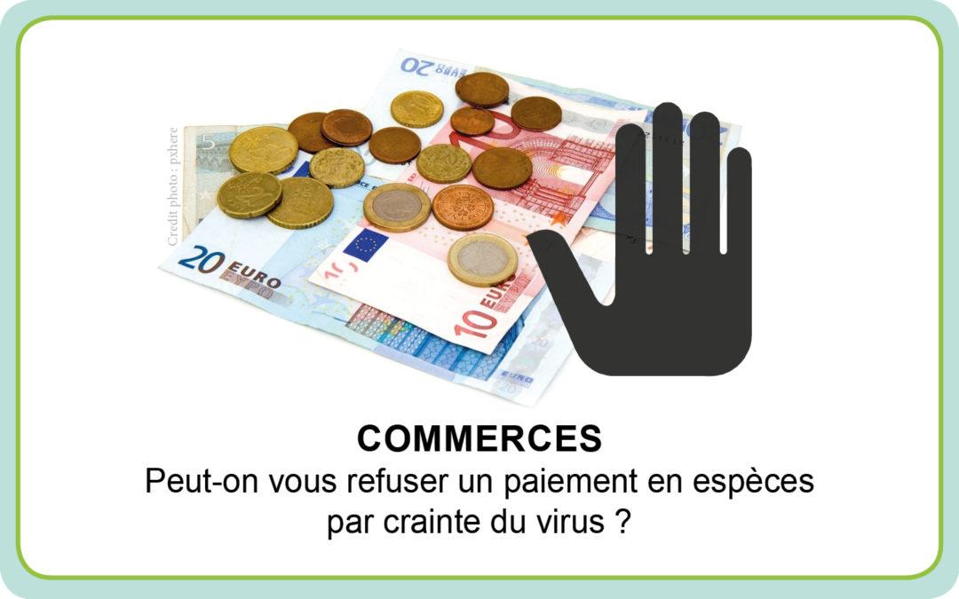 Commerces : Peut-on vous refuser un paiement en espèces par crainte du virus ?