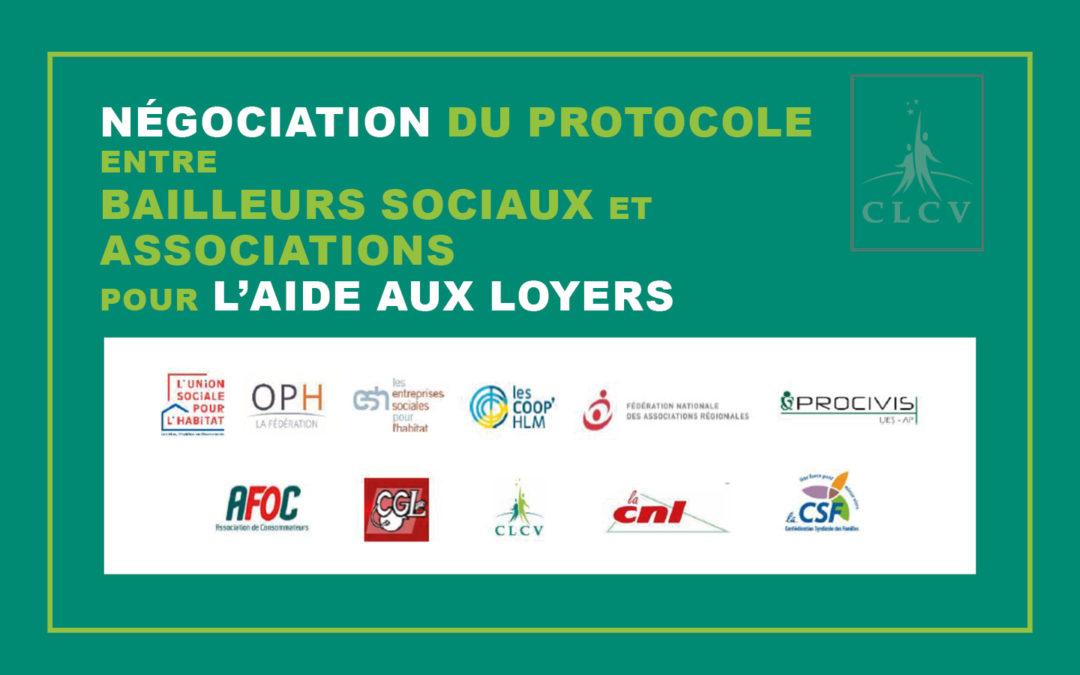 Négociation du protocole entre bailleurs sociaux et associations pour l'aide aux loyers