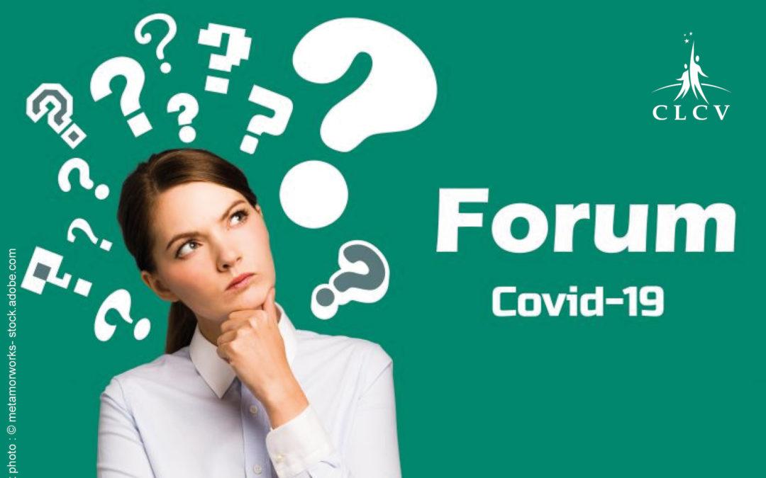 Forum Covid-19 : construisons le monde de demain avec la CLCV