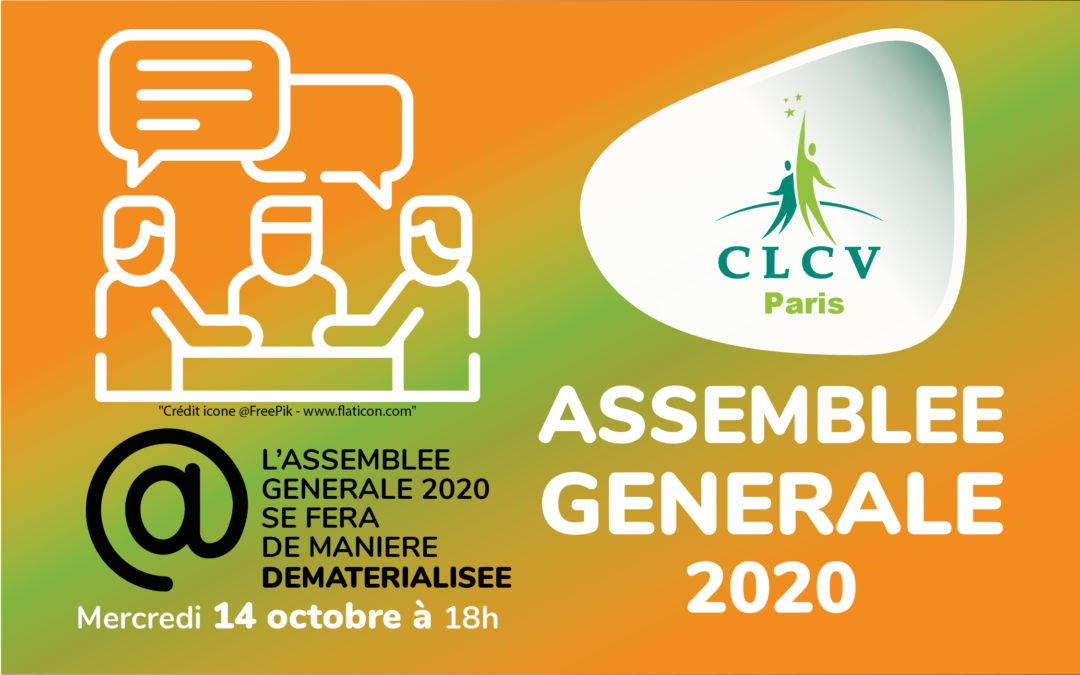 ATTENTION! L'ASSEMBLEE GENERALE 2020 SE FERA DE MANIERE DEMATERIALISEE