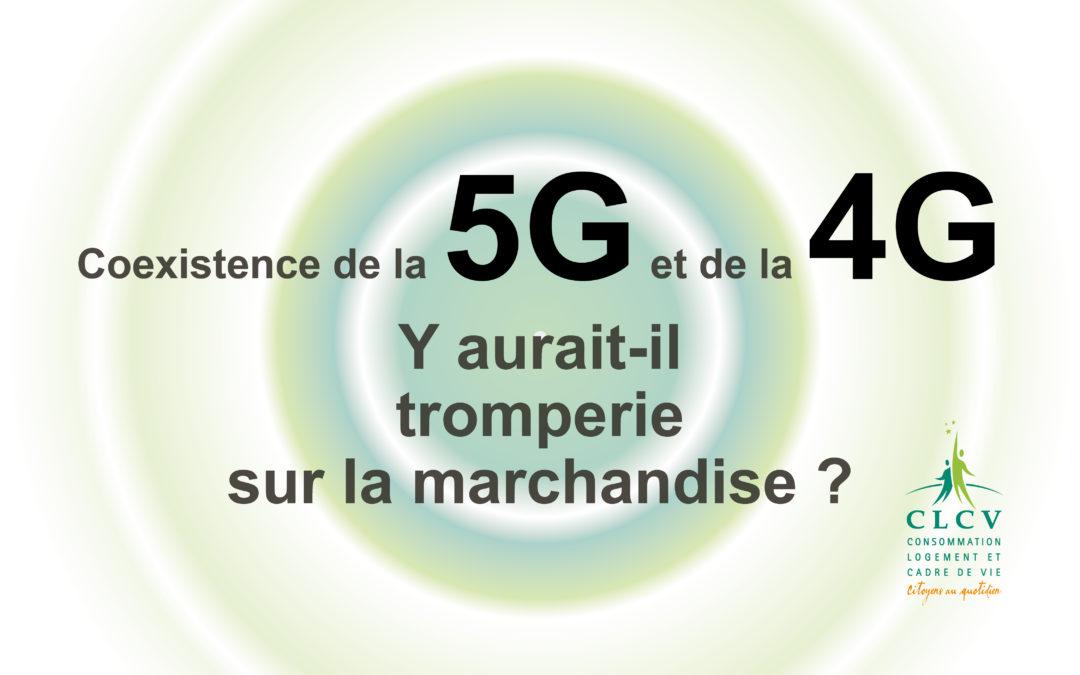 Coexistence de la 5G et de la 4G – Y aurait-il tromperie sur la marchandise ?