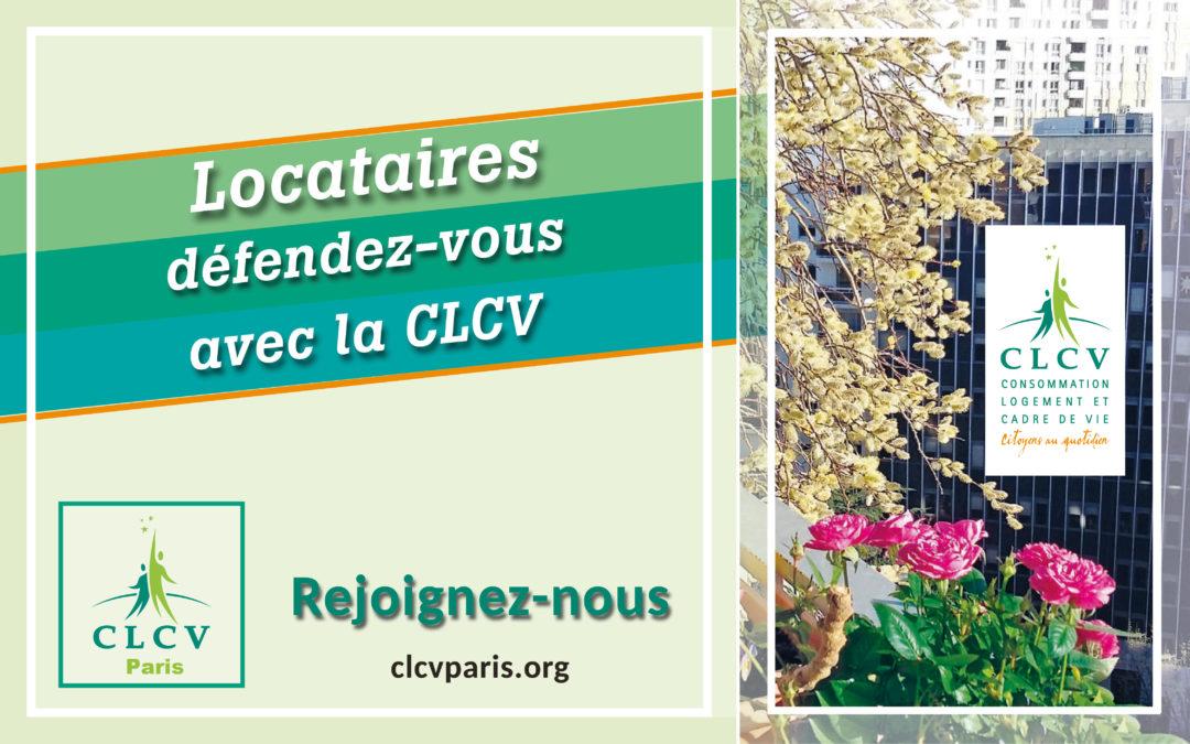 Locataires défendons-nous avec la CLCV